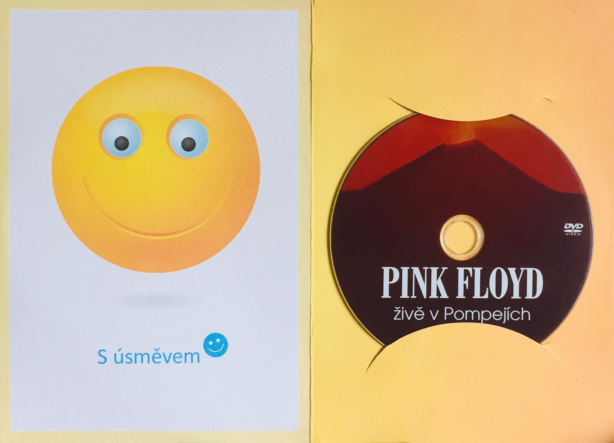 Pink Floyd živě v Pompejích - DVD /dárkový obal/
