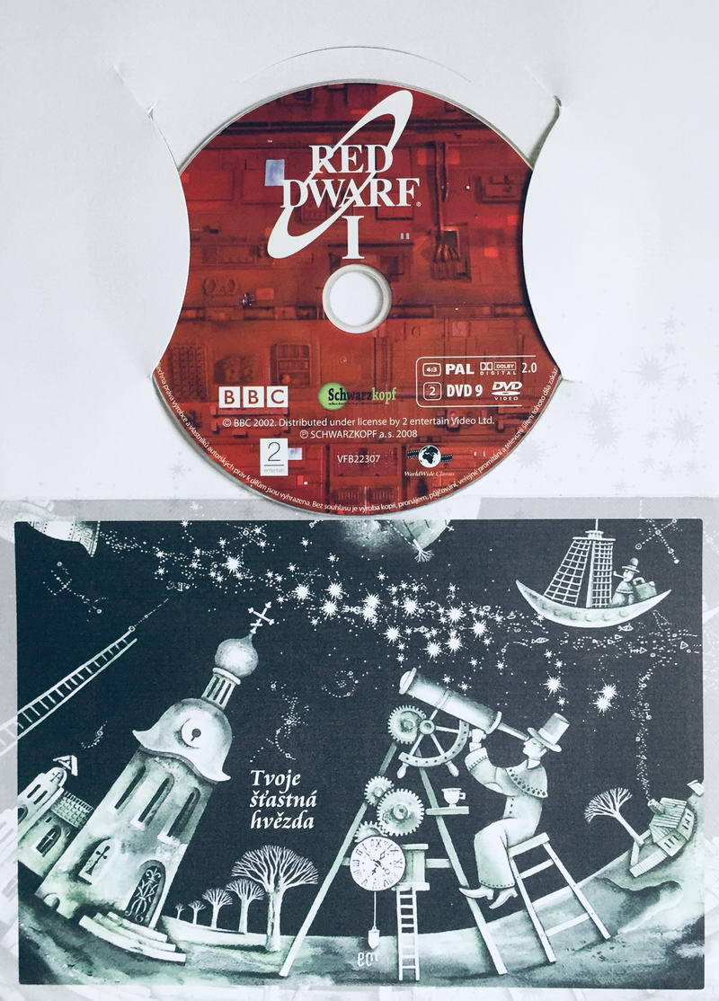 Red Dwarf I. / Červený trpaslík I. - DVD /dárkový obal/