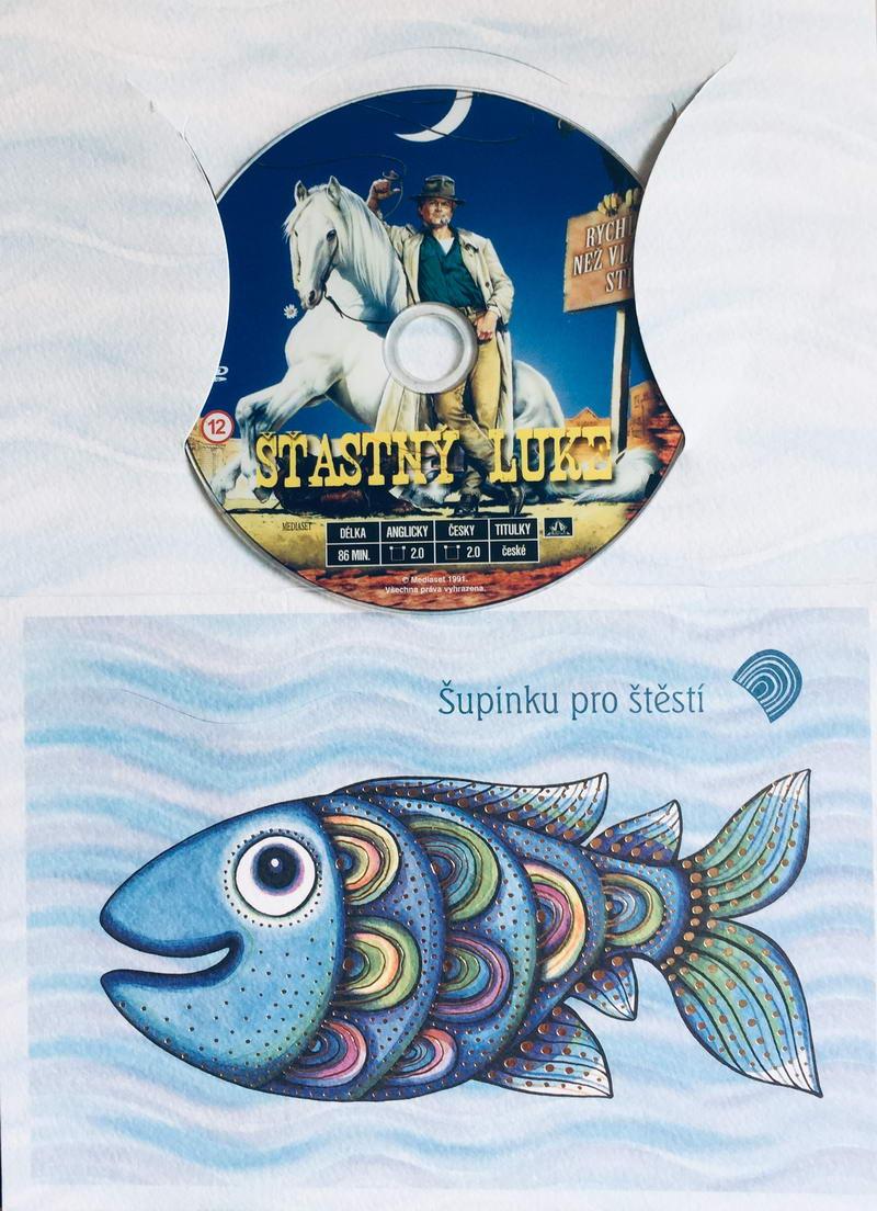 Šťastný Luke - DVD /dárkový obal/