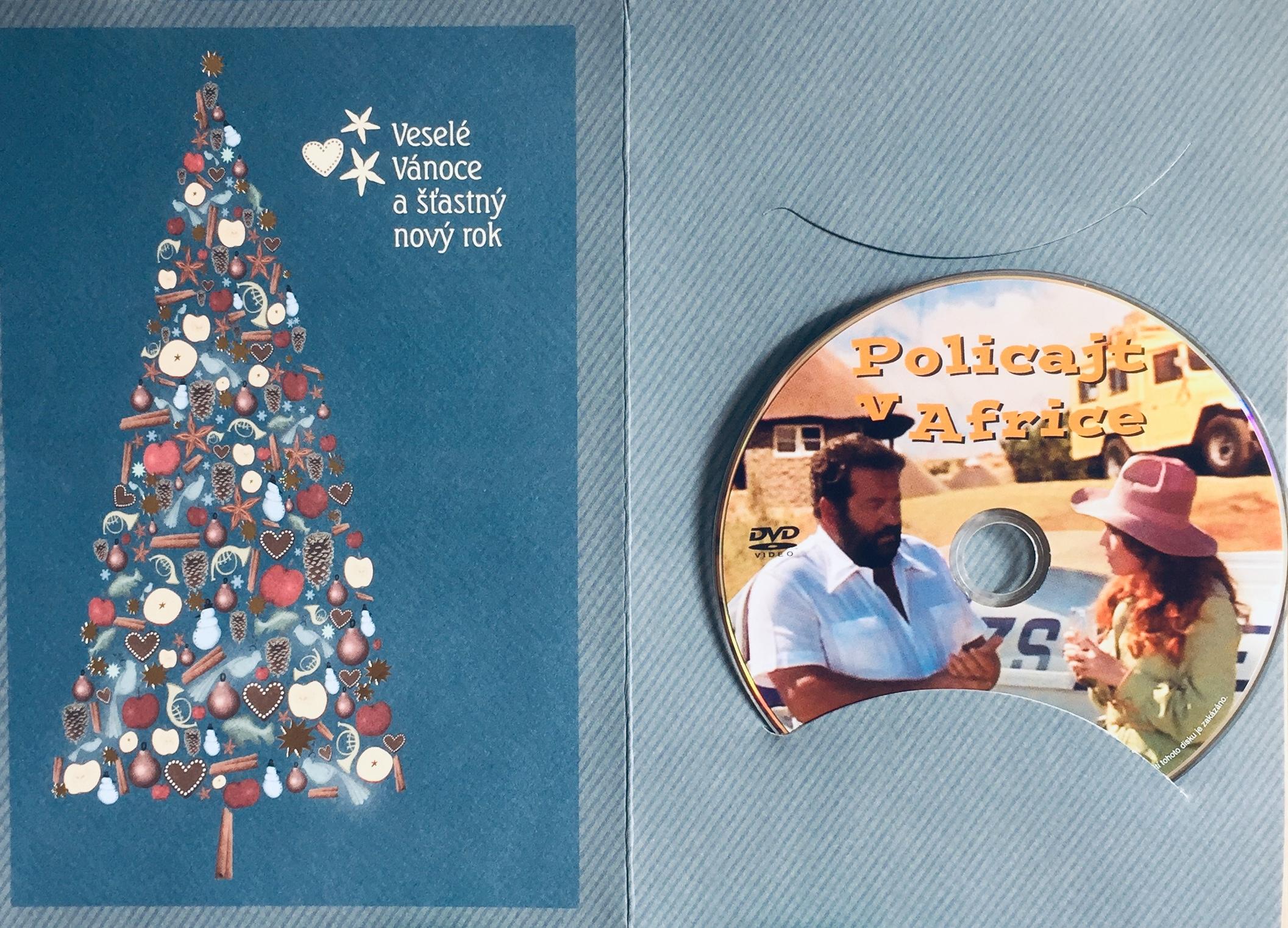 Policajt v Africe - DVD /dárkový obal/