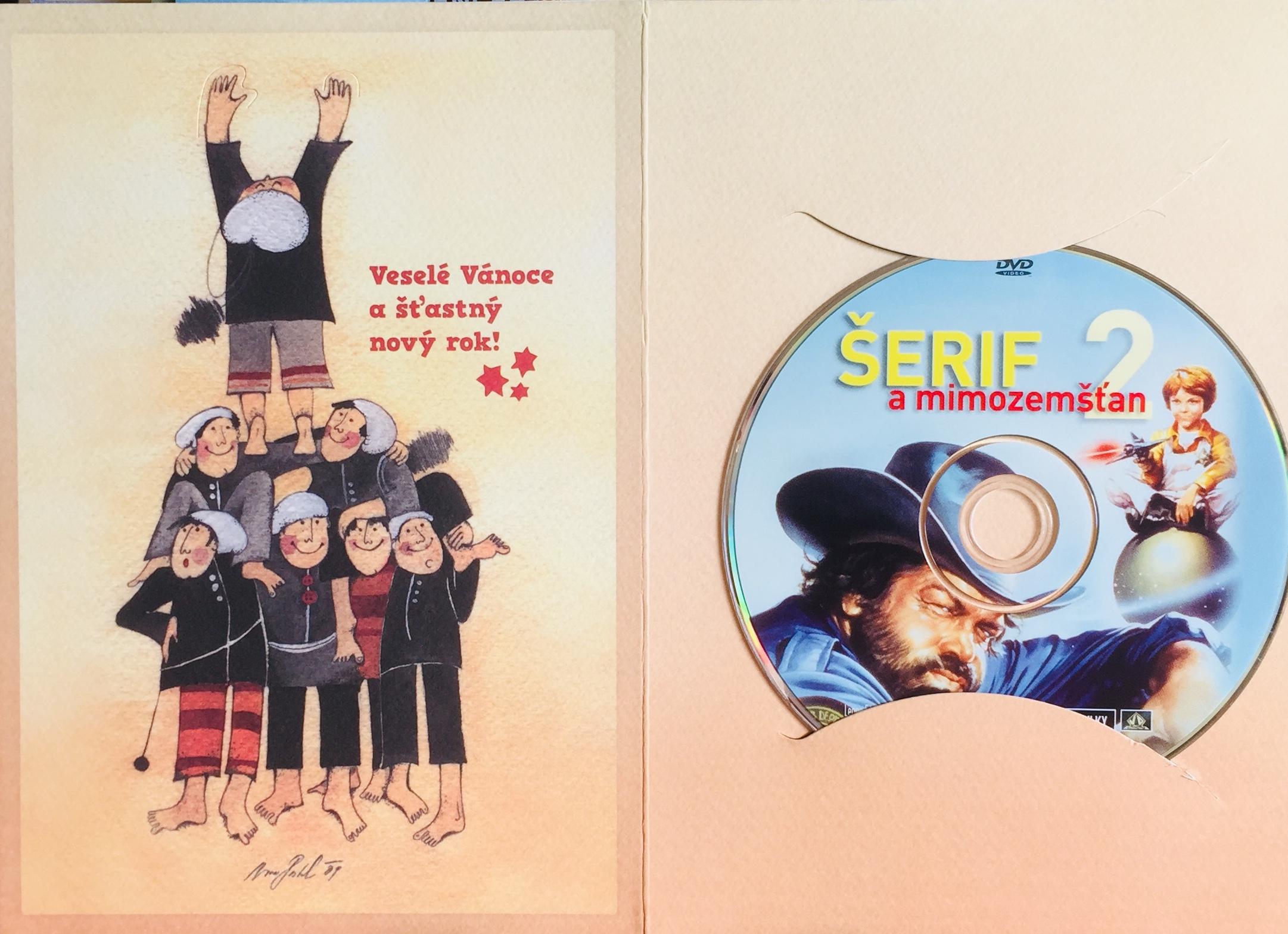 Šerif a mimozemšťan 2 - DVD /dárkový obal/