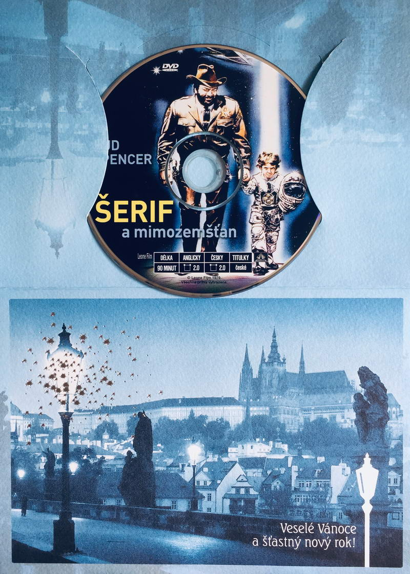 Šerif a mimozemšťan - DVD /dárkový obal/