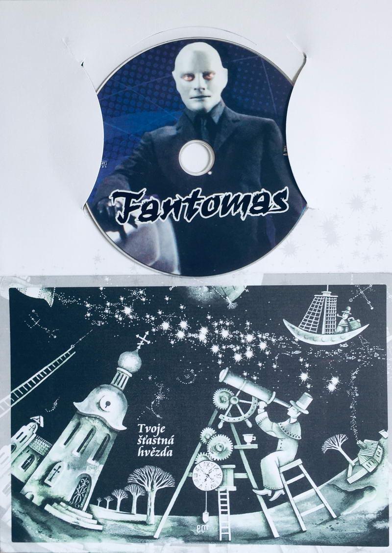 Fantomas - DVD /dárkový obal/