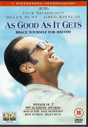 As Good as It Gets / Lepší už to nebude ( originální znění, titulky CZ ) plast DVD