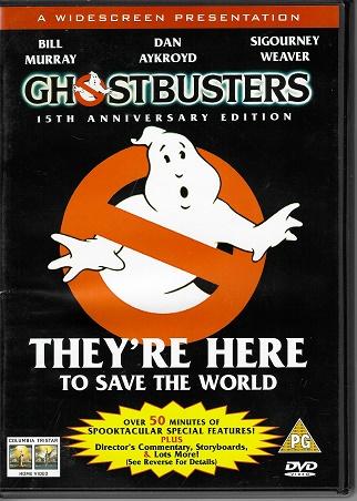 Ghostbusters / Krotitelé duchů ( originální znění, titulky CZ ) plast DVD