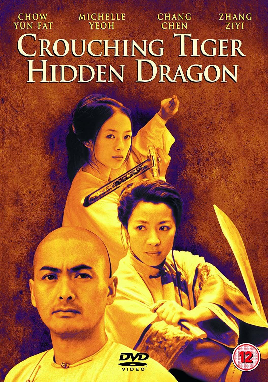 Crouching Tiger - Hidden Dragon / Tygr a drak - v originálním znění s CZ titulky - DVD /plast/