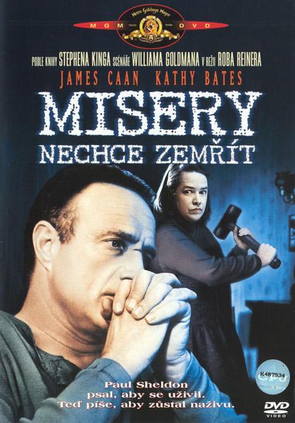 Misery nechce zemřít - DVD /plast/