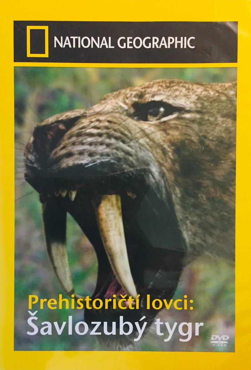 Prehistoričtí lovci: Šavlozubý tygr - DVD /plast/