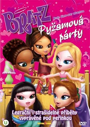 Bratz - Pyžamová party - DVD /plast/