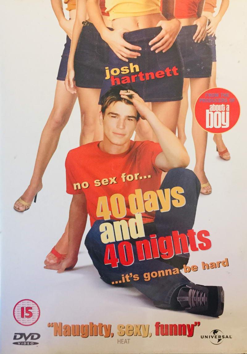 40 Days and 40 Nights / 40 dní a 40 nocí - v originálním znění s CZ titulky - DVD /slim/