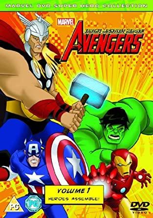 Avengers - Volume 1 - Heroes Assemble - v originálním znění bez CZ titulků - DVD /plast/