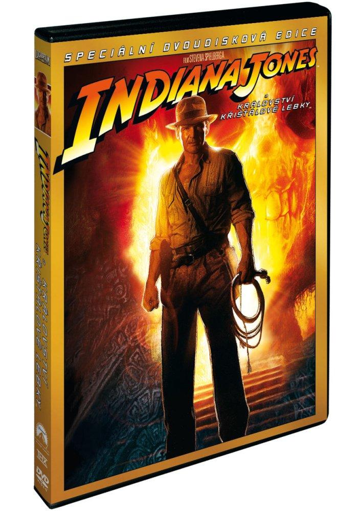 Indiana Jones a Království křišťálové lebky - DVD /plast/