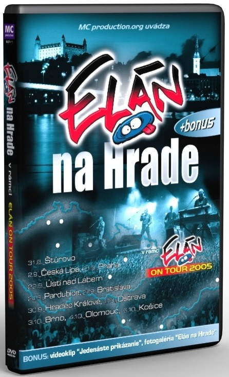 Elán na Hrade - DVD /plast/