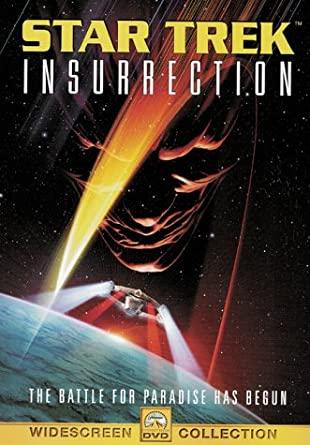 Star Trek - Insurrection / Vzpoura - v originálním znění bez CZ titulků - DVD /plast/bazarové zboží/