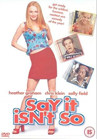 Say It Isn't So / Řekni, že to tak není - v originálním znění s CZ titulky - DVD /plast/