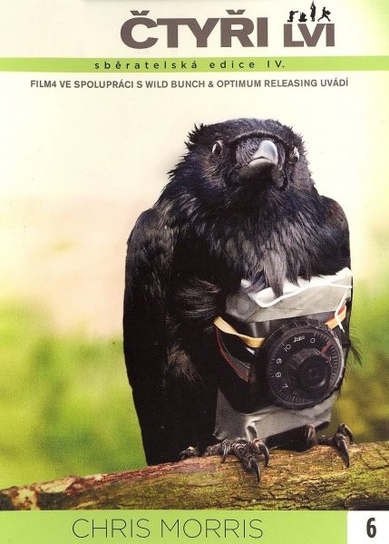 Čtyři lvi - digipack DVD FilmX 6