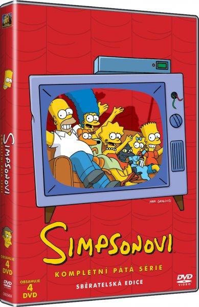 Simpsonovi 5. série DVDSE