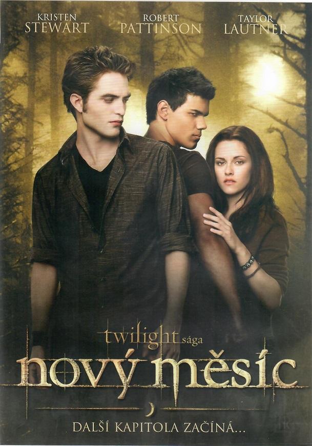 Twilight sága - Nový měsíc (dárkový obal) DVD