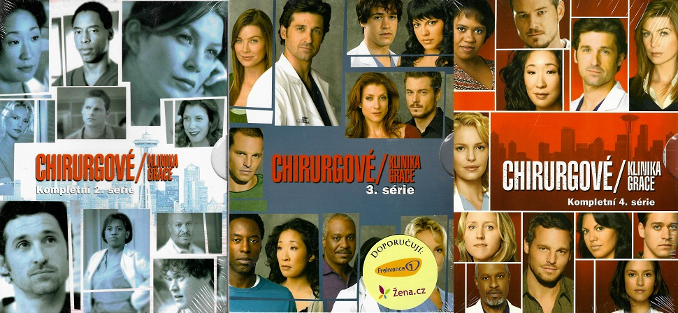 Kolekce Chirurgové - kompletní série 2-4 - DVD