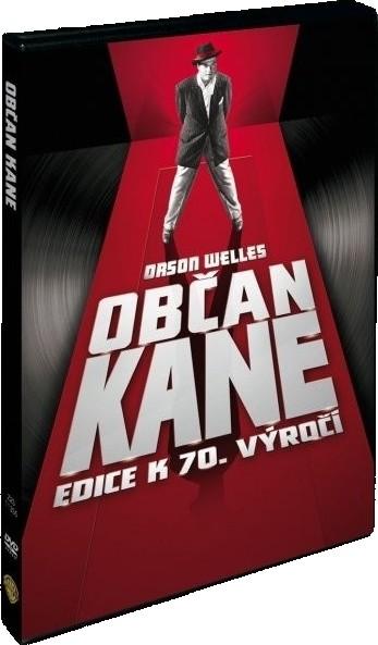 Občan Kane - Edice k 70. výročí - v originálním znění s CZ titulky - DVD /plast/