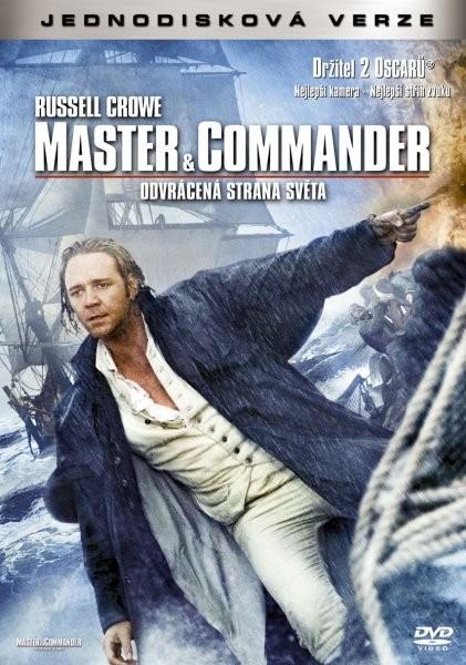 Master & Commander - Odvrácená strana světa - jednodisková verze - DVD /plast/