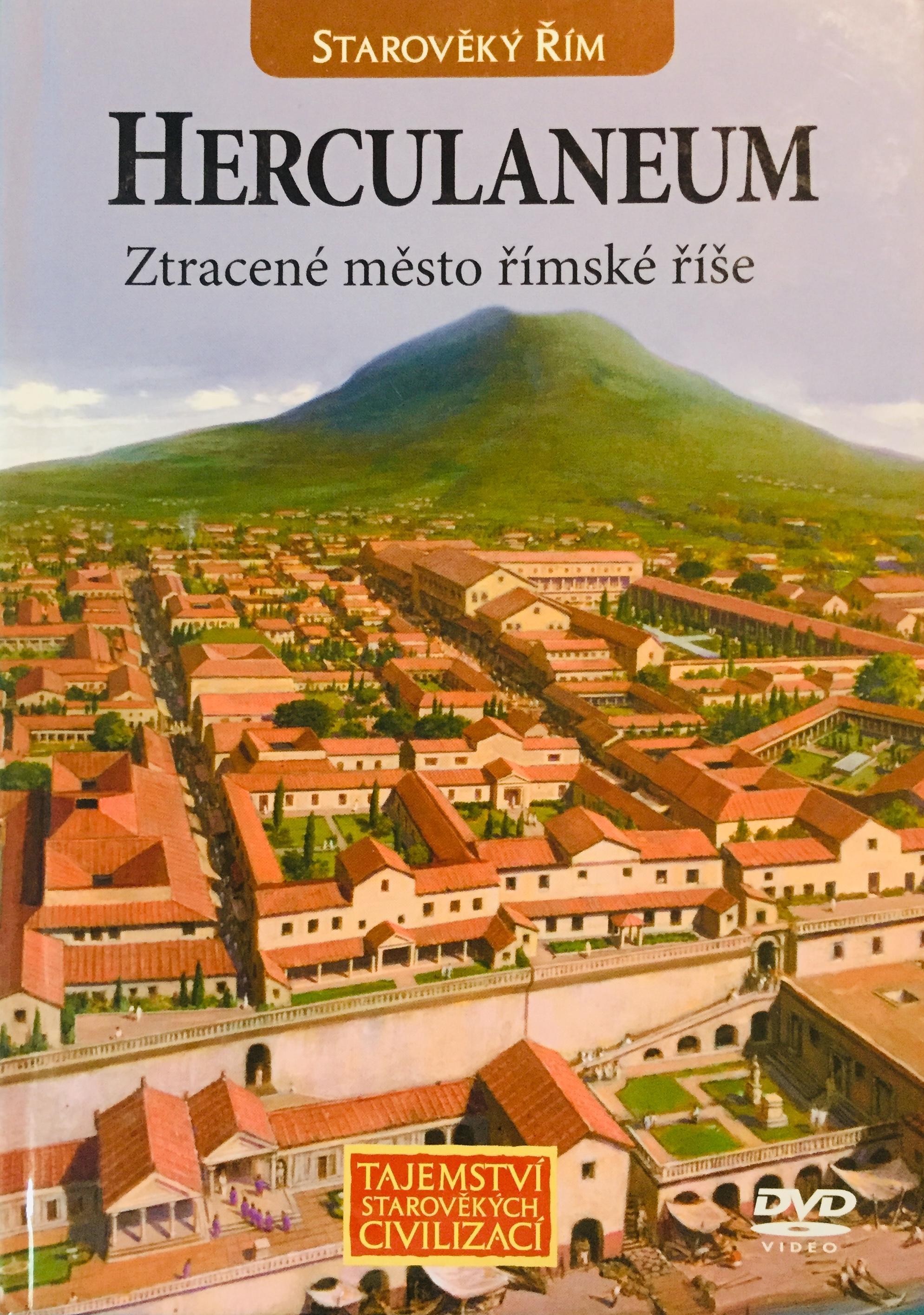 Starověká mysteria - Herculaneum - DVD /brožura/