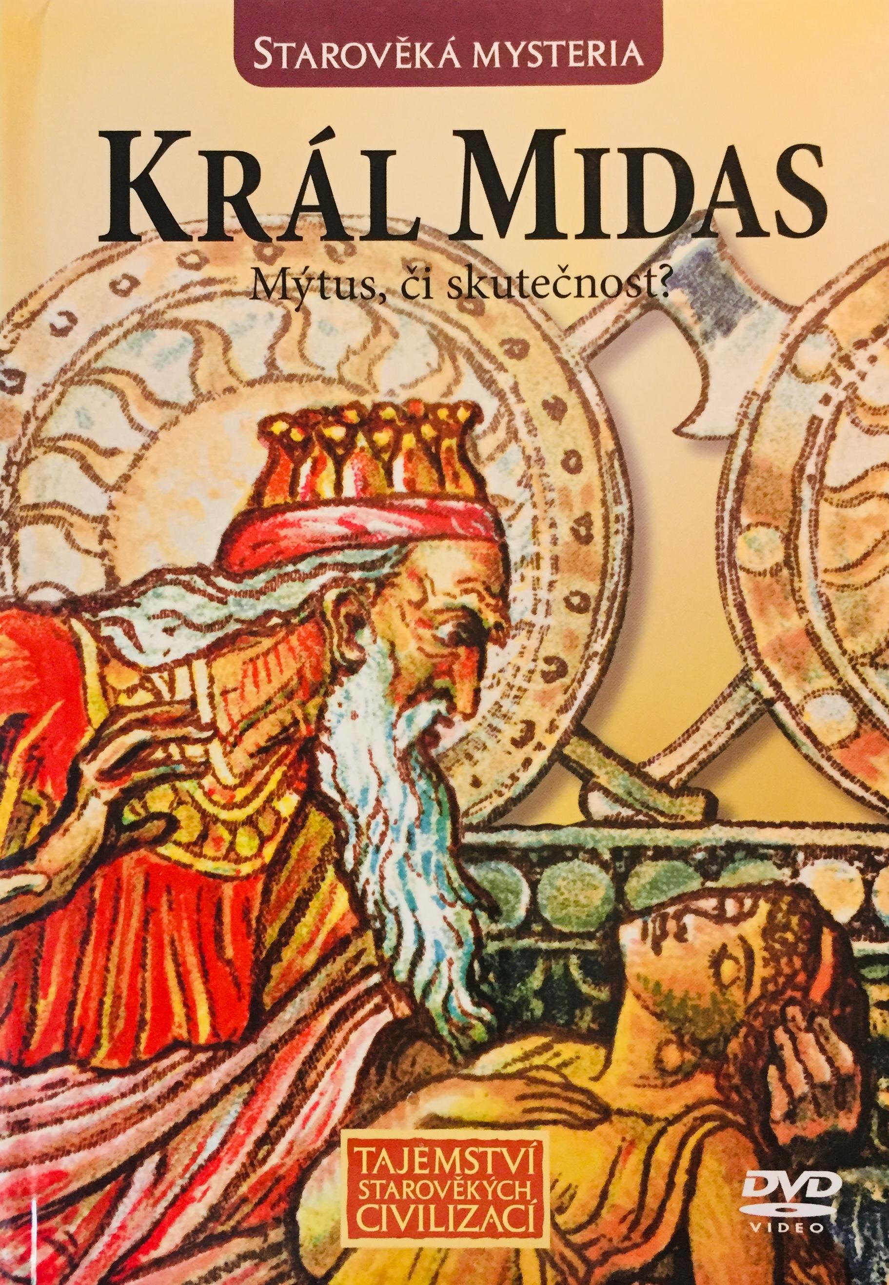 Starověká mysteria - Král Midas - DVD /brožura/