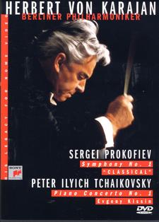 Herbert von Karajan - Berliner Philharmoniker - DVD /plast/
