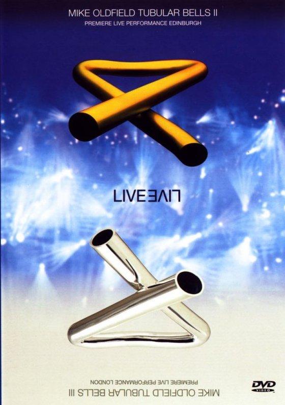 Mike Oldfield - Tubular Bells II & III - Live - DVD /plast/