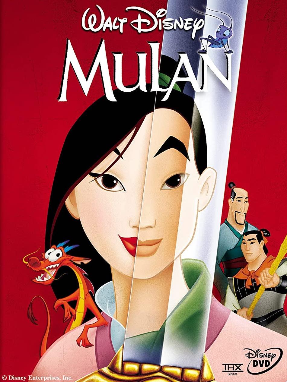 Mulan - DVD /plast/