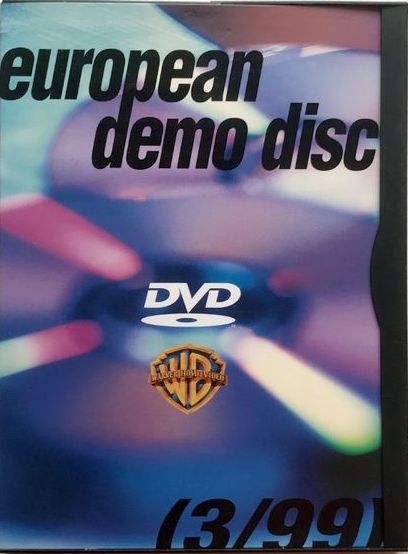 European demo disc - DVD /plast/