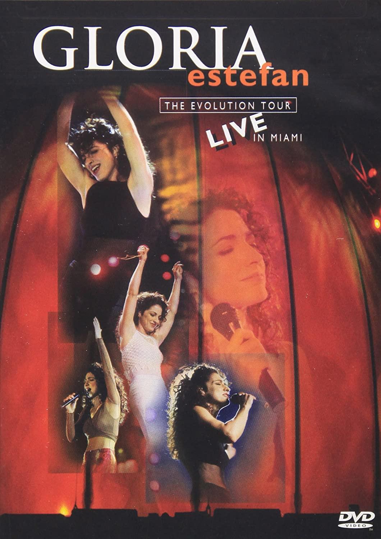 Gloria Estefan - The Evolution Tour Live in Miami - DVD /plast/