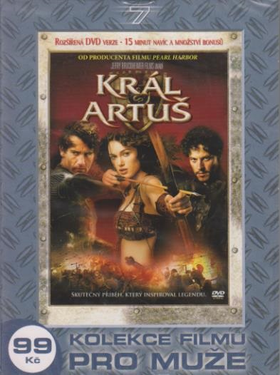 Král Artuš - digipack DVD