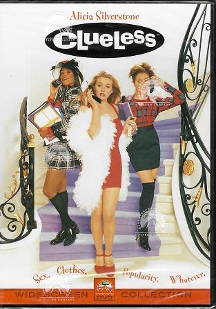 Clueless / Bezmocná / Praštěná holka  ( plast ) DVD