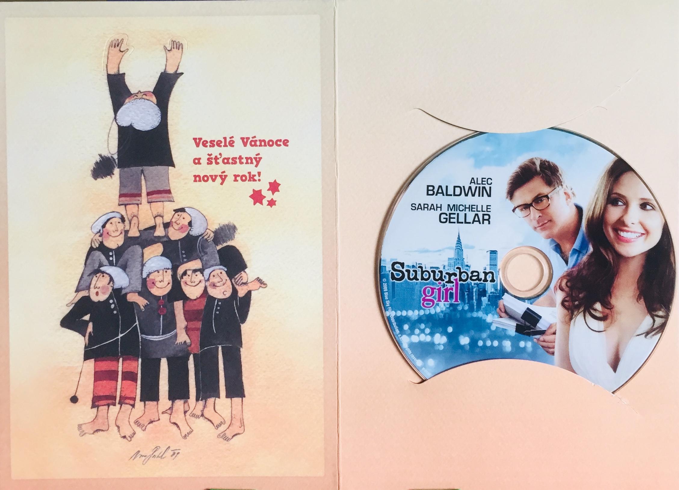 Suburban Girl / Holka z předměstí - DVD /dárkový obal/