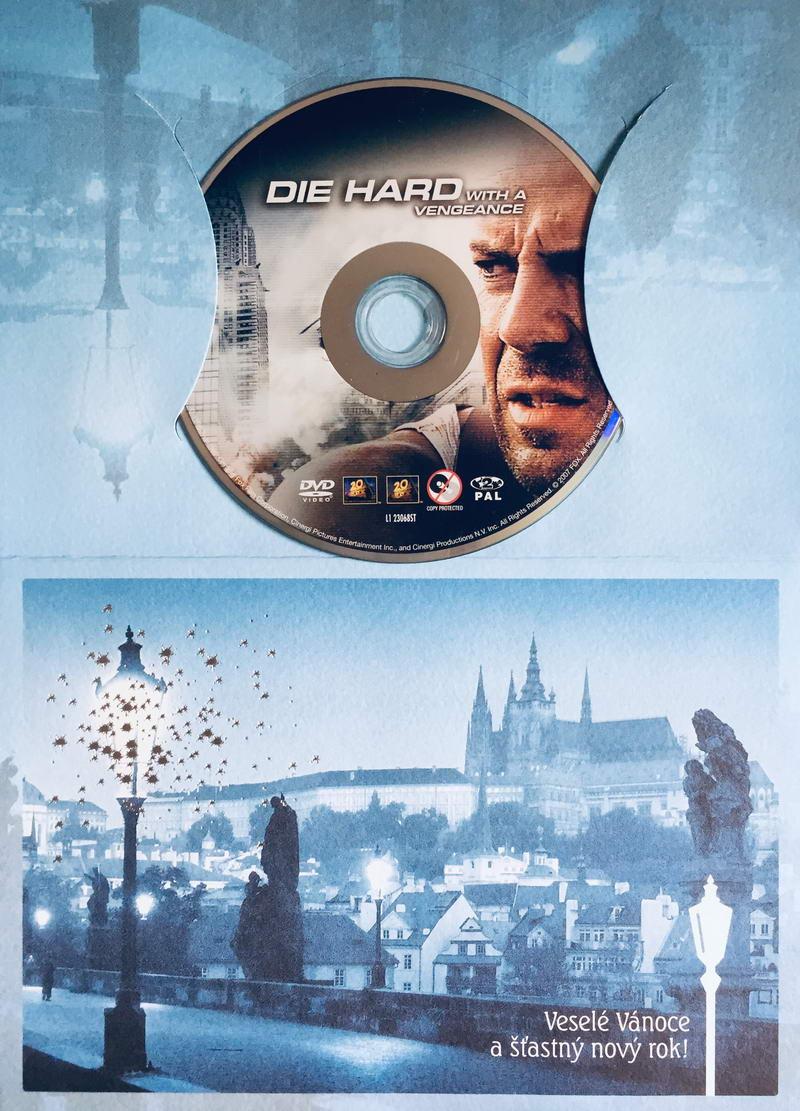 Die Hard with a Vengeance / Smrtonosná past 3 - DVD /dárkový obal/