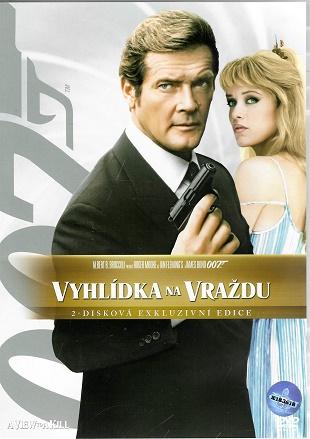 James Bond 07 - vyhlídka na vraždu 2 - disková exkluzivní edice ( plast ) DVD