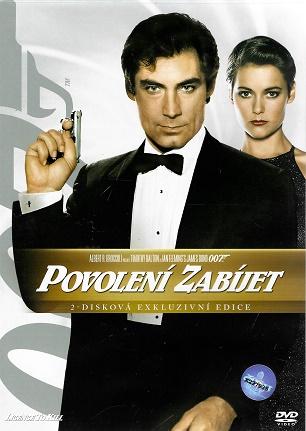 James Bond 05 - Povolení zabíjet 2 - disková exkluzivní edice ( plast ) DVD
