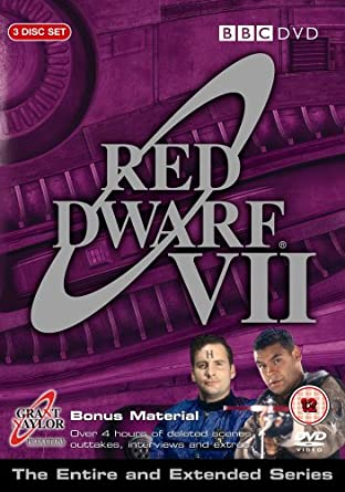 Red Dwarf VII / Červený trpaslík VII - v originálním znění bez CZ titulků - 3xDVD /plast/