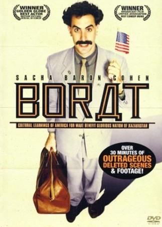 Borat - Cultural Learnigns of America for Make Benefit Glorious Nation fo Kazakhstan - v originálním znění bez CZ titulků - DVD /plast v šubru/