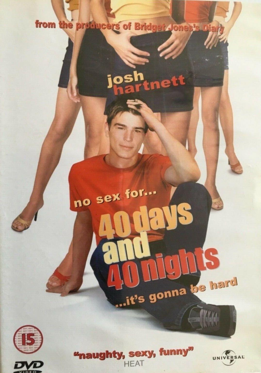 40 days and 40 Nights / 40 dní a 40 nocí - v originálním znění s CZ titulky - DVD /plast/