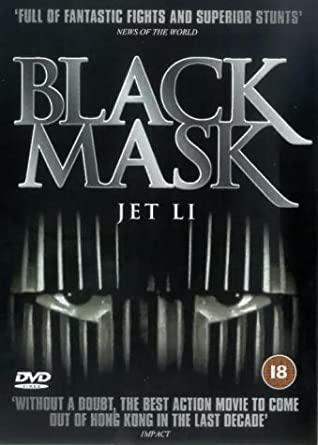 Black Mask / Černá maska - v originálním znění bez CZ titulků - DVD /plast/