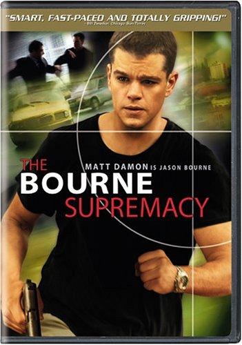 The Bourne Supremacy / Bournův mýtus - v originálním znění bez CZ titulků - DVD /plast/