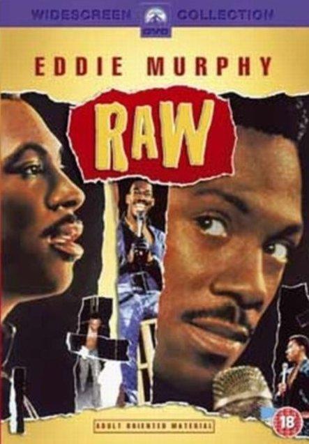 Eddie Murphy Raw / Sprosťák Murphy - v originálním znění bez CZ titulků - DVD /plast/