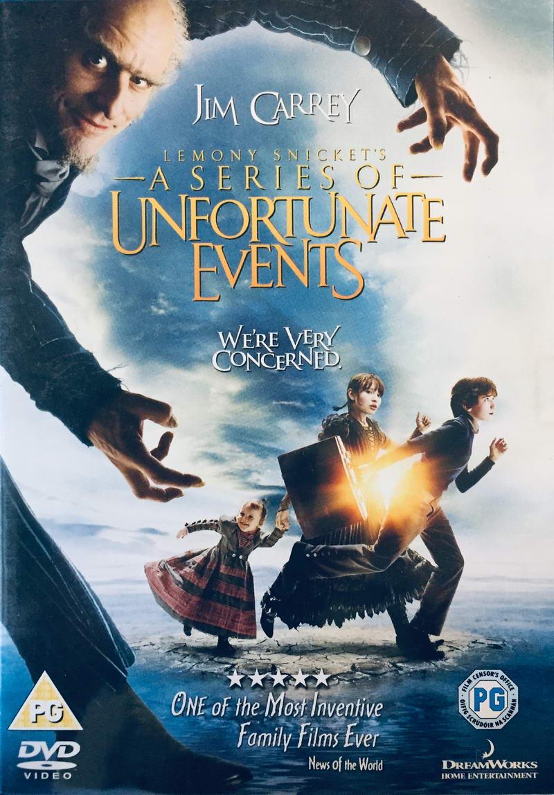 Lemony Snicket's - A Series of Unfortunate Events /  Lemony Snicket - Řada nešťastných příhod - v originálním znění bez CZ titulků - DVD /plast/