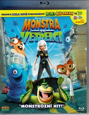 Monstra vs. Vetřelci ( BLU-RAY )