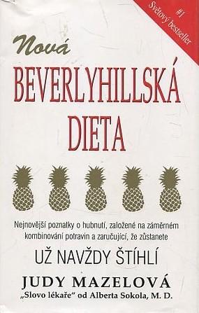 Nová Beverlyhillská dieta - Judy Mazelová /bazarové zboží/
