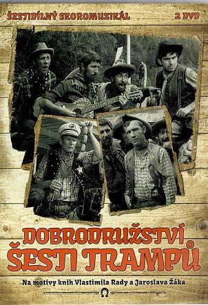 Dobrodružství šesti trampů 2DVD ( plast ) DVD