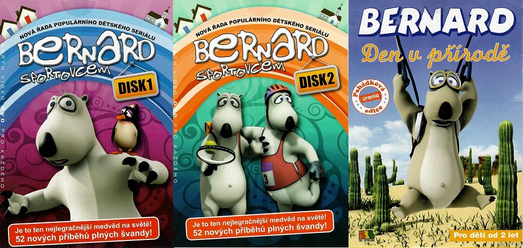 Kolekce Bernard 3x DVD Bernard den v přírodě / Bernard sportovce 1+2