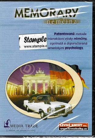 MEMORARY Němčina / patentovaná metoda inteaktivní výuky němčiny ( plast ) DVD
